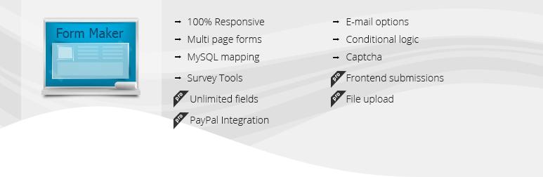 WordPress plugins for business - Form Maker