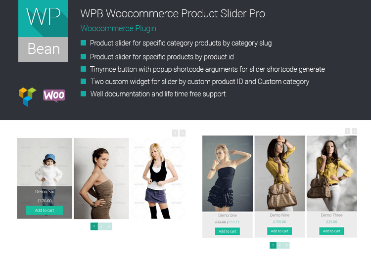 Woocommerce Product slider V – 2.0