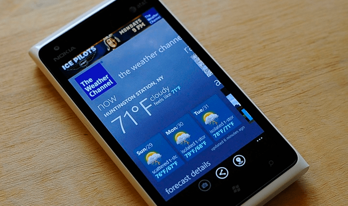 the weather channel app for windows 10 laptop