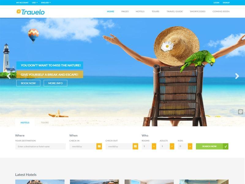 Best WordPress Travel Themes 2016 - wordpress travel themes