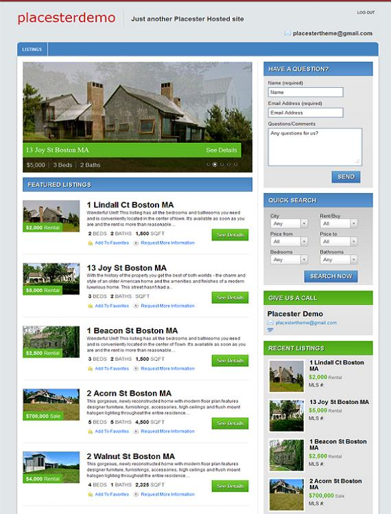 Awesome Free Real Estate WordPress Themes WP Crash!
