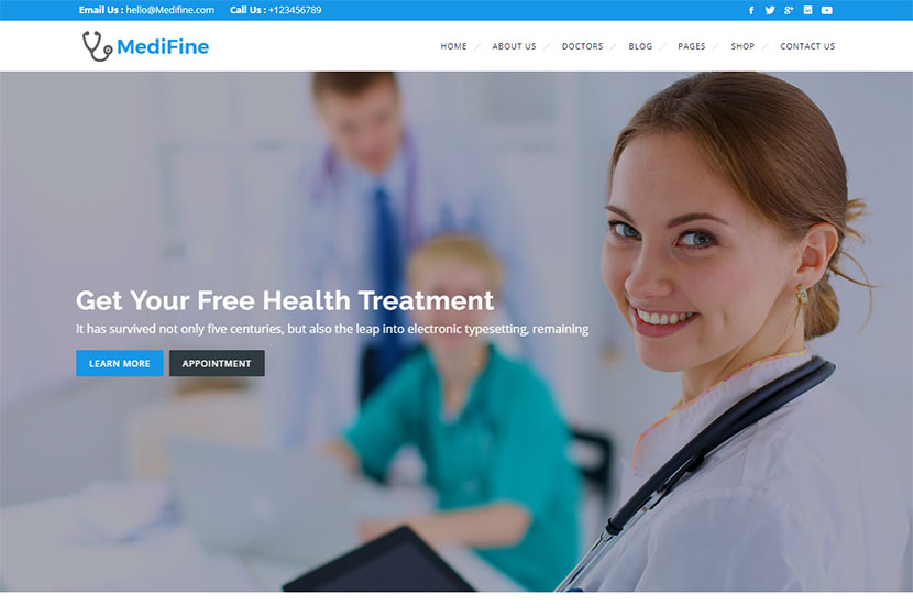 Health and Medical WordPress Themes - WP Daddy