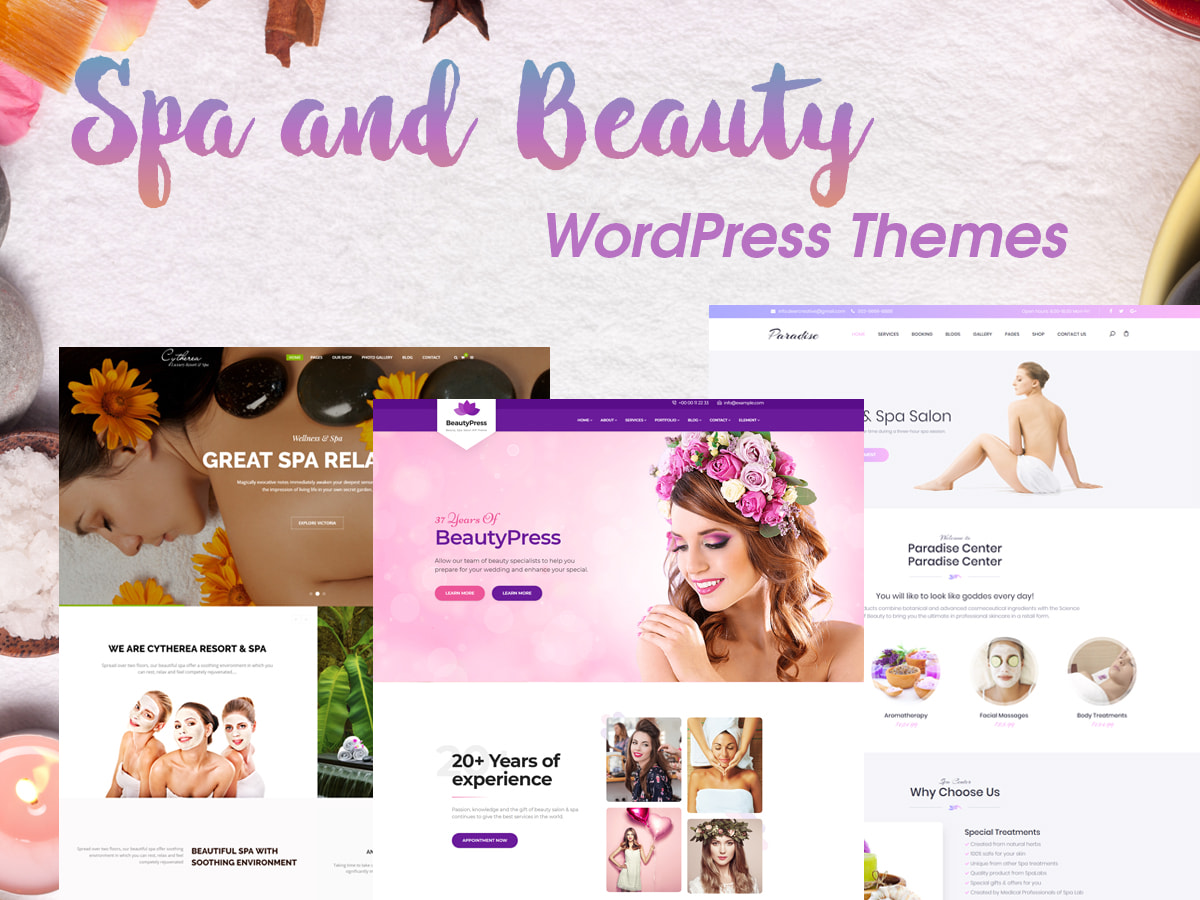 Free Wordpress Yoga Template Spa And Beauty Wordpress Themes For Wellness Centers Wp Daddy