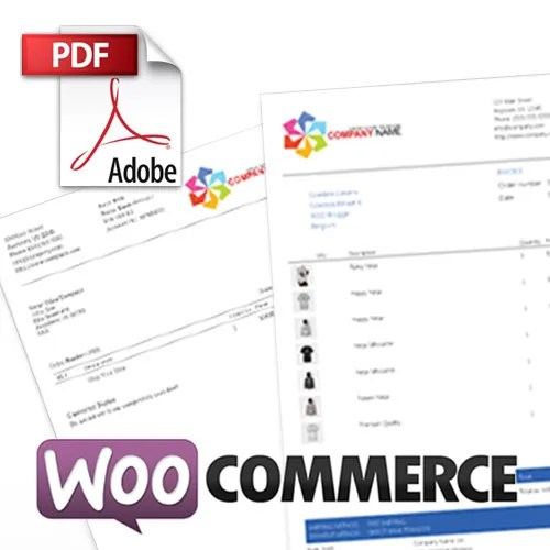 Add WooCommerce PDF Invoices  Packing Slips - WordPress eCommerce - pdf invoices