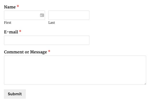 How to Redirect Users after WordPress Form Submission - sales lead form template word