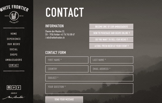 6 Beautiful Contact Form Designs You Can Steal (CSS Examples)