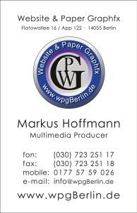 WPG Visitenkarte