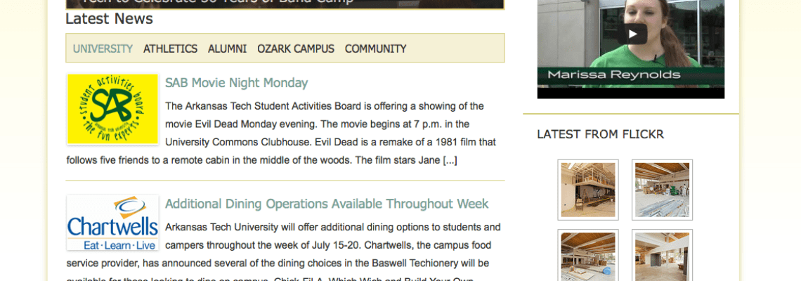 Arkansas Tech News