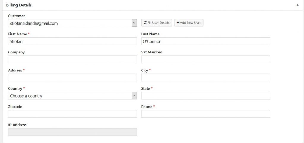 Sending your first invoice WP Invoicing Docs