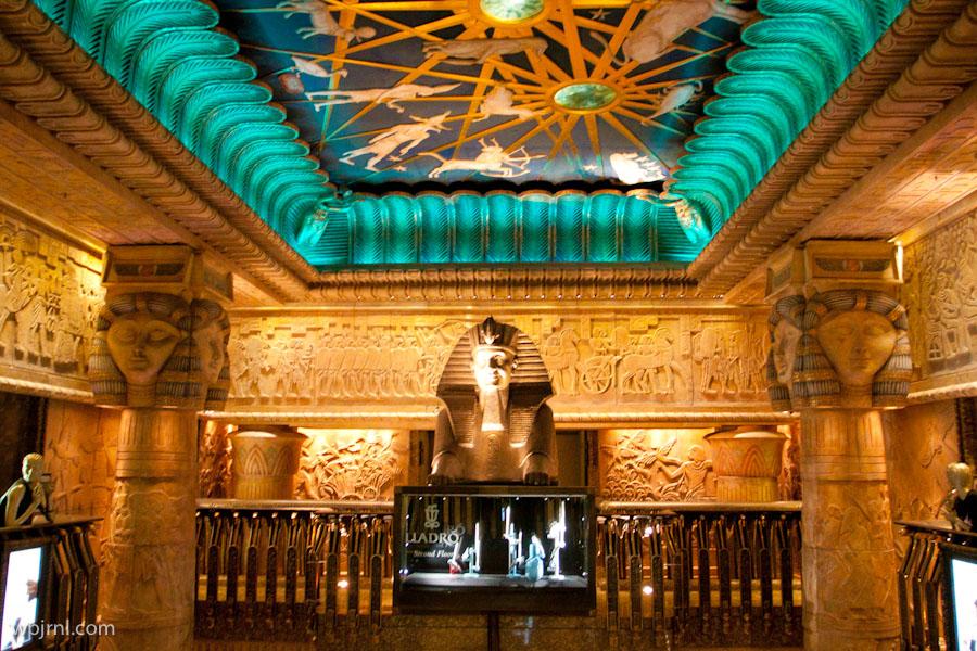 Harrods Ancient Egyptian interior theme