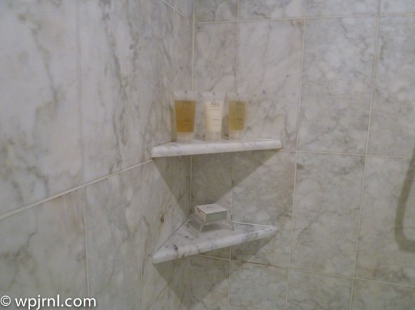 Grand Hyatt Santiago Executive Suite Terrace Bath Amenities