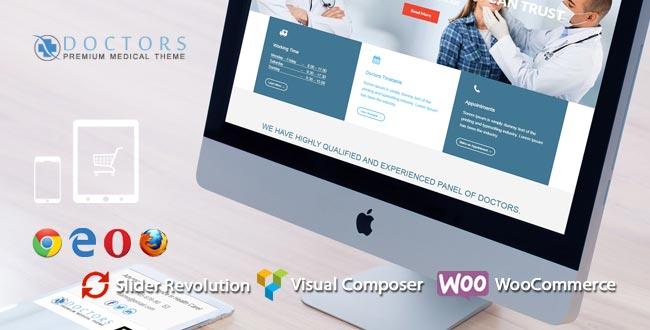 Doctors - Premium Medical WordPress Theme By WpManiaNet