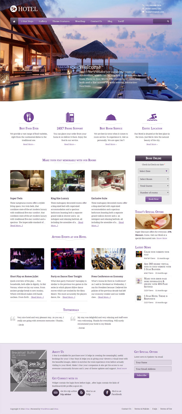 Booking Site 22 Great Wordpress Booking And Reservation Themes Wp Mayor
