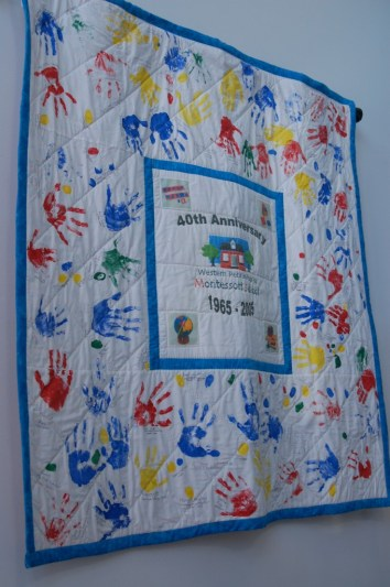 WPMS 40th Anniversary Quilt