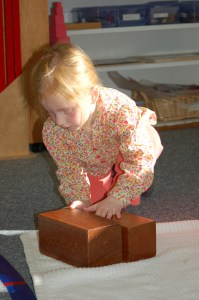 Montessori Child at Work