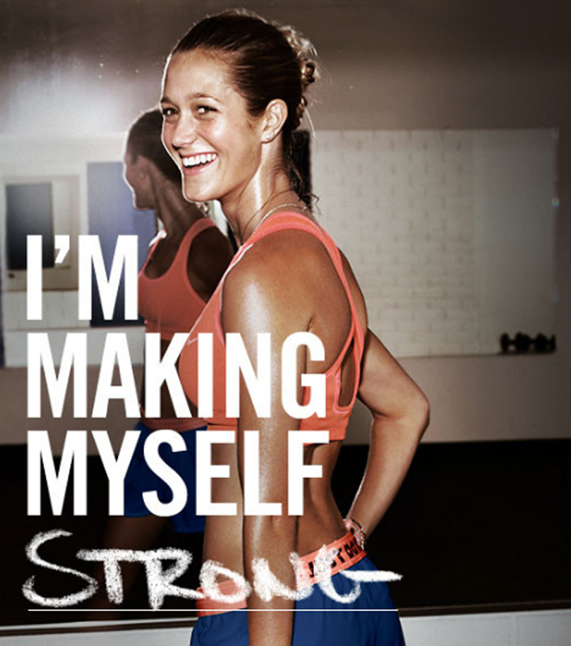 Under Armour Girl Wallpaper Nike Women Amp The Make Yourself Movement Nmict Amp Dev