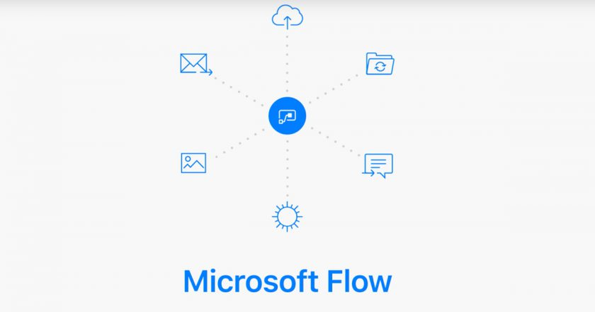 Microsoft Flow now supports error handling steps, two new services
