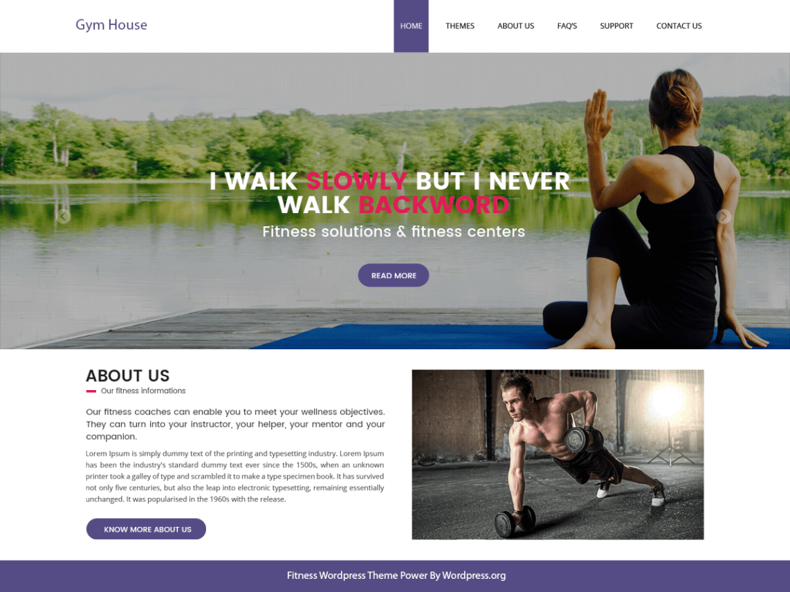 Free Wordpress Yoga Template Top 25 Best Free Fitness Wordpress Themes For Gym Updated