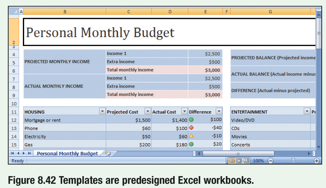 personal budget template - personal budget worksheets