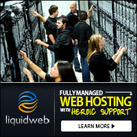 We Recommend Liquid Web Hosting for security and excellent support