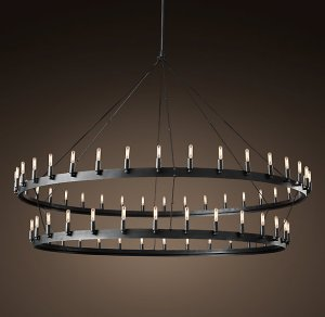 "Camino Two-Tier 72.25"" Chandelier"
