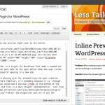 Inline Preview Wordpress Plugin - Screenshot