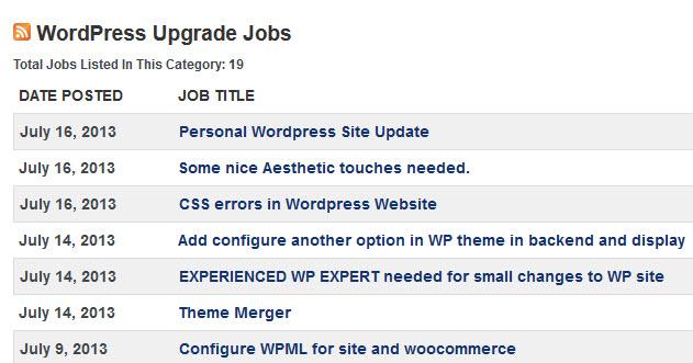 WP Jobs Website
