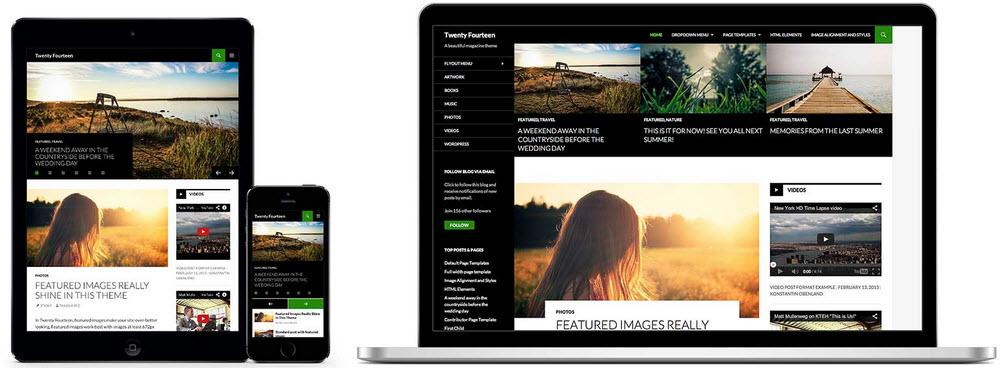 WordPress 3.8 Responsive Admin