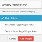 WordPress 3.8 Widget Management