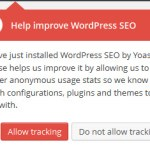 Yoast SEO Tracking
