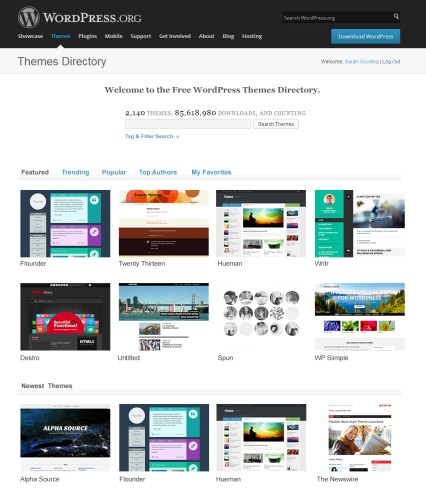 Reimagining the WordPress Themes Directory