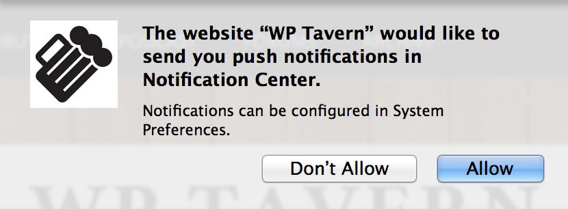 Push Monkey Subscription Notice