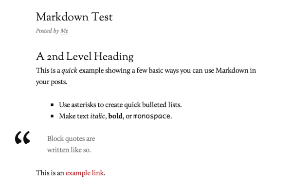 markdown-example