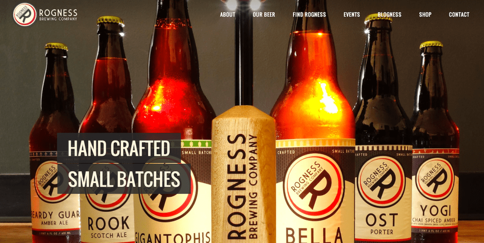 30 Beautiful Brewery Websites Built With WordPress