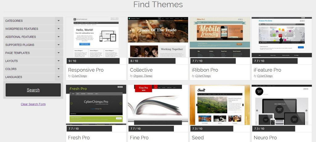 Theme Friendly Helps You Find the Perfect WordPress Theme
