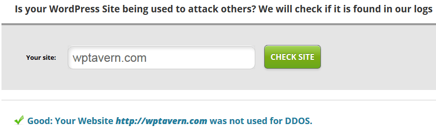 WPTavern Was Not Used To Attack Other Sites