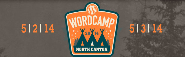 WordCamp North Canton 2014 Header