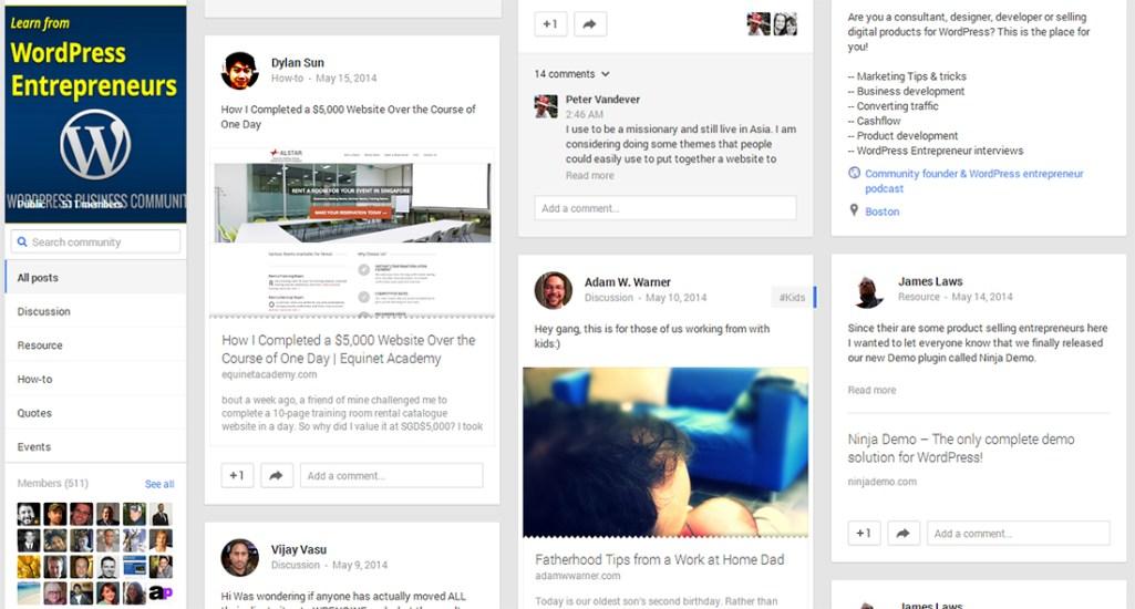 WordPress Entrepreneurs Group