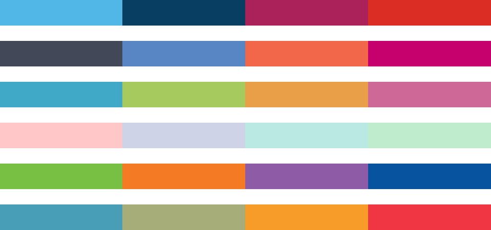 A Beautiful Way to Display Color Palettes in WordPress