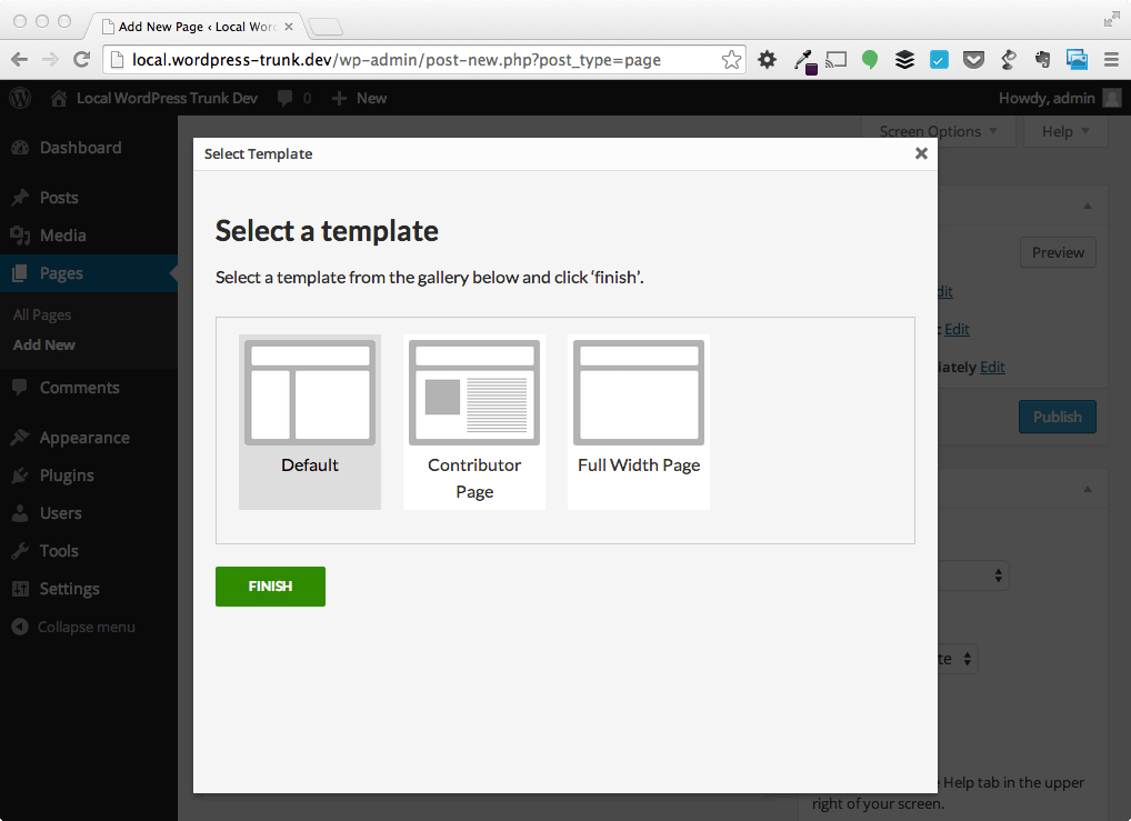 Clarity plugin helps wordpress users navigate page for If page template wordpress