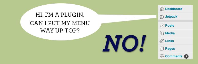 Menu Humility: A Plugin to Put Plugins in Their Place