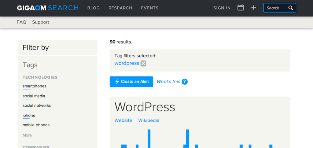Gigaom's Blazing Fast WordPress Search is Enhanced by Sphinx and Scriblio