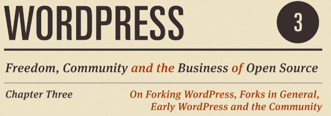 WordPress History Book Featured Image
