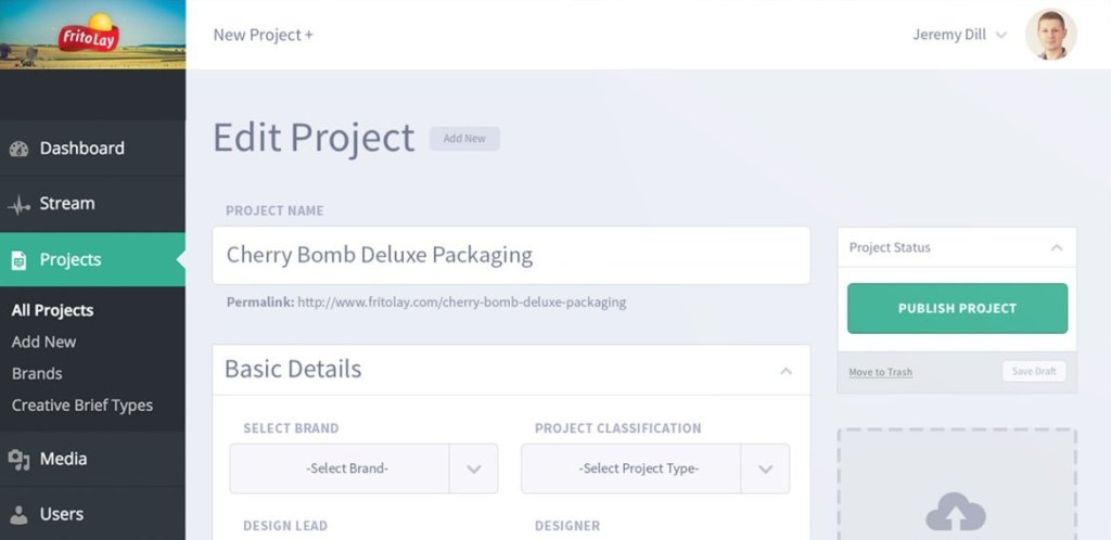 Frito-Lay's Custom Project Management App Is Built on WordPress