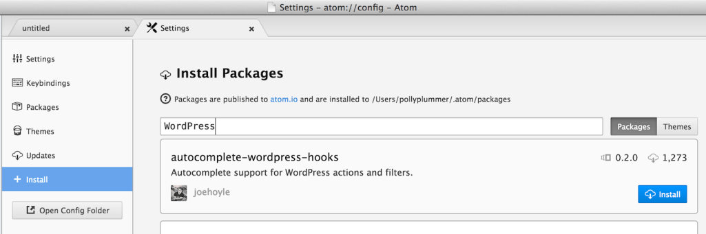 atom-install-packages