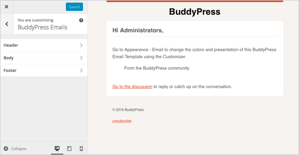 BuddyPress 2.5.0 Released, Features Customizable Emails and Support for Emoji
