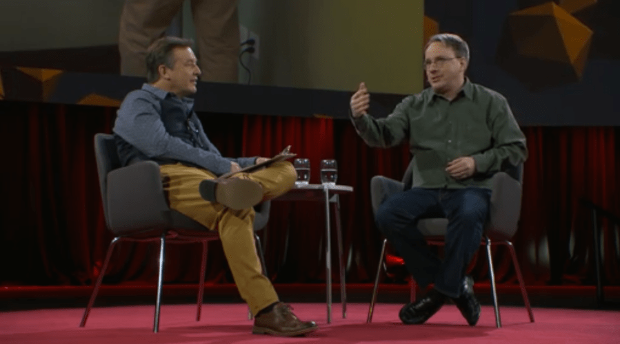 Linus Torvalds Explains How Open Source Led to the Success of Linux