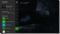 Xbox Dashboard Screenshot Showcasing Background Music