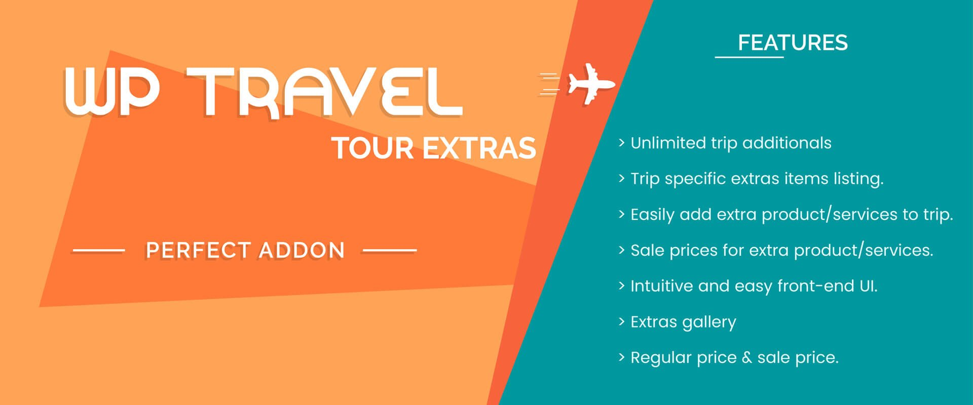 Trip Travel Wp Travel Tour Extras Plugin For Additional Services To Tour Packages