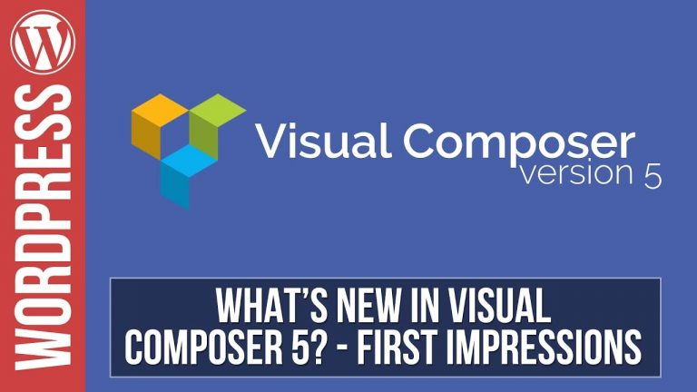 Visual Composer  WPBakery Page Builder Tutorials
